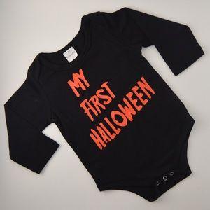 Baby's My First Halloween Bodysuit